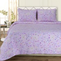 Amy 100% Cotton Quilt Set