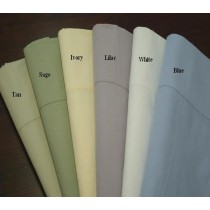 Egyptian Cotton Percale Pillow Cases - King Size