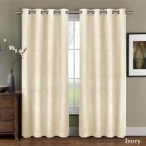 Prairie Blackout Weave Embossed Curtain Panel