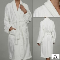 Egyptian Cotton Terry Bath Robes - Small