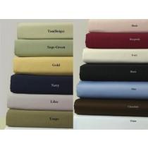 300 TC Egyptian Cotton Solid Sheet Set - Full Size
