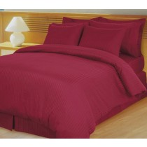 Egyptian Cotton 600TC Comforter Set - Burgundy