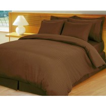 Egyptian Cotton 600TC Comforter Set - Chocolate