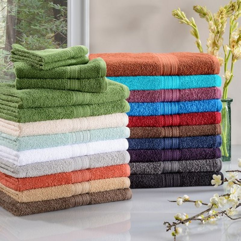ECO-FRIENDLY RINGSPUN COTTON 6PC TOWEL SET