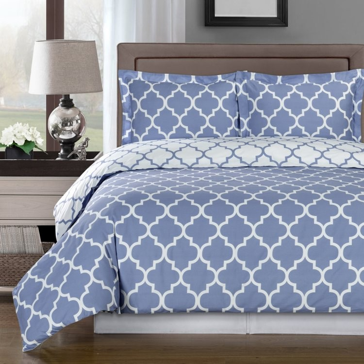 MERIDIAN COTTON DUVET COVER SET