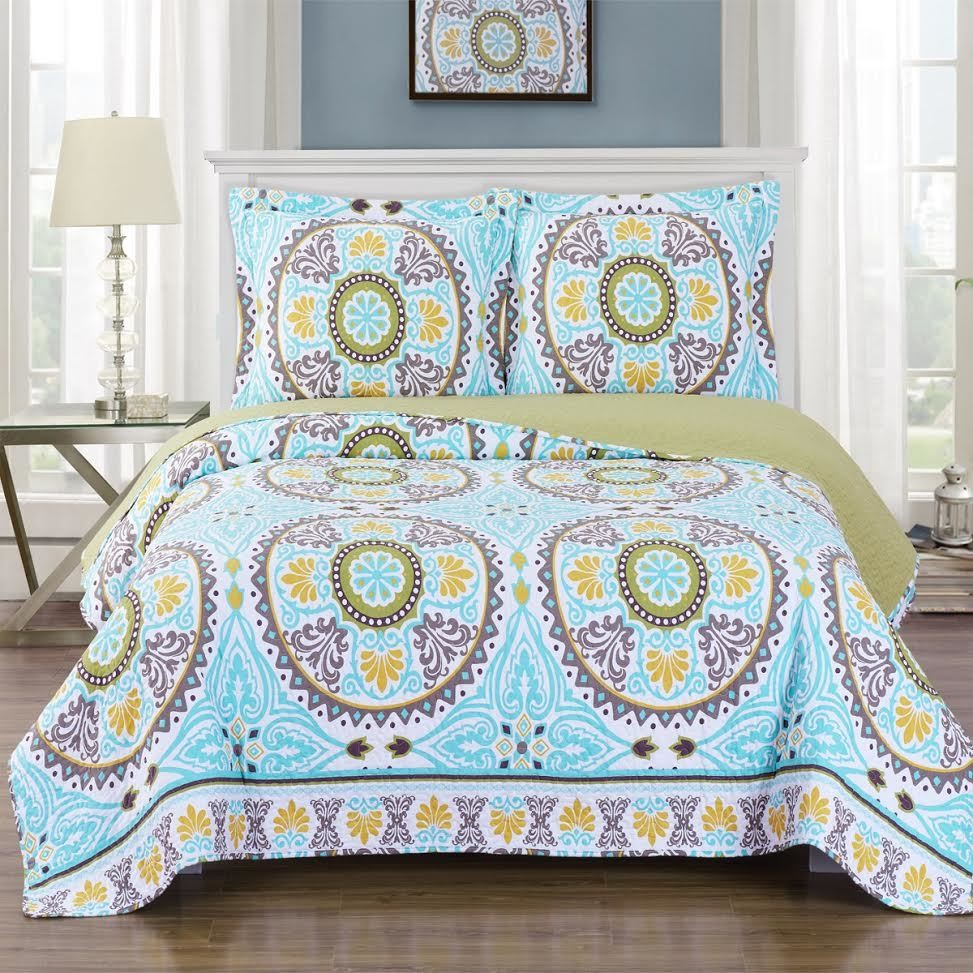 Nyah Oversize Coverlet Quilt Set